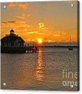 Roanoke Marshes Lighthouse 3210 Acrylic Print