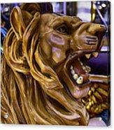 Roaring Lion Ride Acrylic Print
