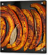 Roasted Pumpkin Slices Acrylic Print