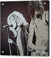 Robert And Jimmy Acrylic Print by Stuart Engel