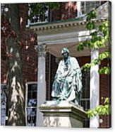 Robert Brooke Taney Statue - Maryland State House  Acrylic Print