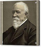 Robert Browning  Writer        Date Acrylic Print