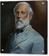 Robert E. Lee Acrylic Print