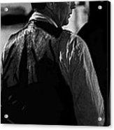 Robert Mitchum Young Billy Young Set Old Tucson Arizona  Acrylic Print