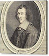 Robert Nanteuil French, 1623 - 1678, Louis-francois De La Acrylic Print