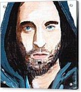 Robert Pattinson 128a Acrylic Print