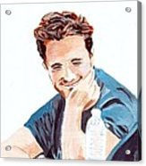 Robert Pattinson 130 Acrylic Print