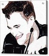 Robert Pattinson 184 Acrylic Print