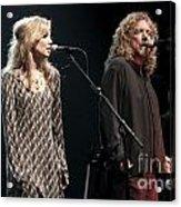Robert Plant And Alison Kraus Acrylic Print