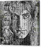 Robert Plant - Led Zeppelin Acrylic Print