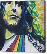 Robert Plant.. Led Zeppelin Acrylic Print