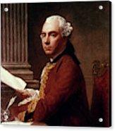 Robert Wood (c1717-1771) Acrylic Print