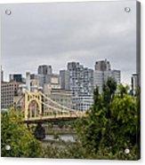 Roberto Clemente Bridge Pittsburgh Pa Acrylic Print