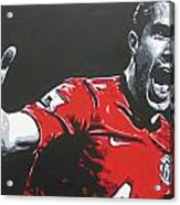Robin Van Persie - Manchester United Fc Acrylic Print