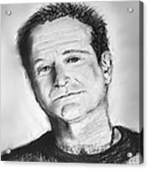 Robin Williams 2 Acrylic Print