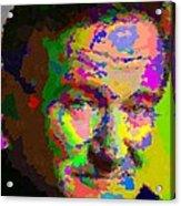 Robin Williams - Abstract Acrylic Print