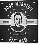 Robin Williams - Dark Acrylic Print