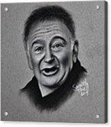 Robin Williams Tribute Acrylic Print