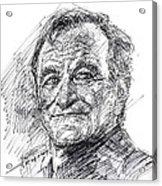 Robin Williams Acrylic Print