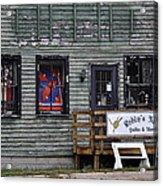 Robin's Nest Store In Autumn Michigan Usa Acrylic Print