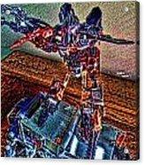 Robo Man Acrylic Print