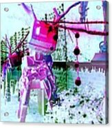 Robo Reindeer Acrylic Print by Randall Weidner