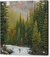Robson River Falls Acrylic Print