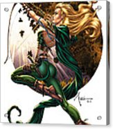Robyn Hood 01h Acrylic Print by Zenescope Entertainment