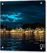 Roche Harbor  At Sunset Acrylic Print