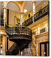 Rochester City Hall Stairs Acrylic Print