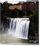Rochester Ny High Falls Acrylic Print