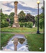 Rochester Reflection Acrylic Print
