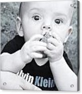 Rock A Bye Baby Acrylic Print