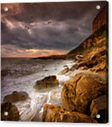 Rock - A - Nore Acrylic Print by Mark Leader