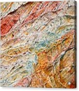 Rock Abstract #2 Acrylic Print