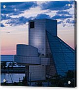 Rock And Roll Hall Of Fame Acrylic Print