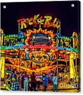 Rock And Roll On The Boardwalk Acrylic Print