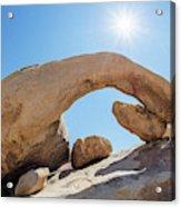 Rock Arch Acrylic Print