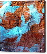 Rock Art 15 Acrylic Print