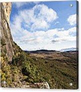Rock Cliff Southern Madagascar Acrylic Print