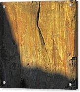 Rock Climbers On The Big Wall Acrylic Print