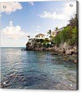 Rock Cottage Acrylic Print