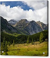Rock Creek Canyon 1 Acrylic Print by Roger Snyder