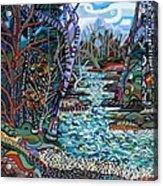 Rock Creek Acrylic Print