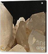 Rock Crystals Acrylic Print