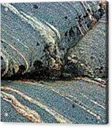 Rock Formation 1b Acrylic Print