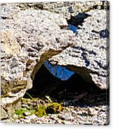 Rock Formation Devonian Fossil Gorge Acrylic Print