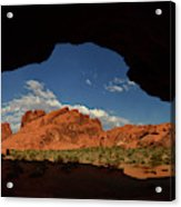Rock Formations In The Valley Of Fire Acrylic Print