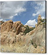 Rock Formations  Acrylic Print