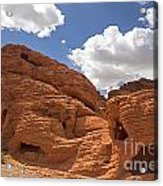 Rock Formations Valley Of Fire Acrylic Print